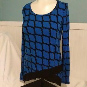 Cynthia Rowley Long Sleeve Shirt. Size XS